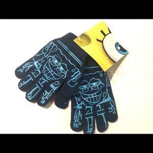 Sponge Bob Boys' Gloves